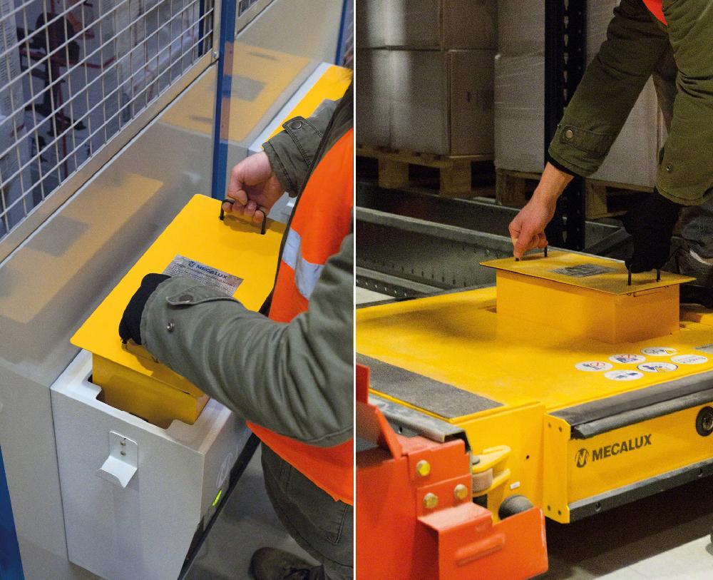 Cette machine fonctionne avec des batteries au lithium qui lui offrent une autonomie pouvant aller jusqu'à 10 heures